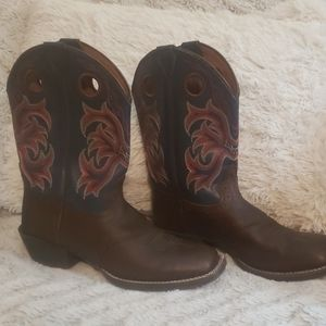 Justin western boots
